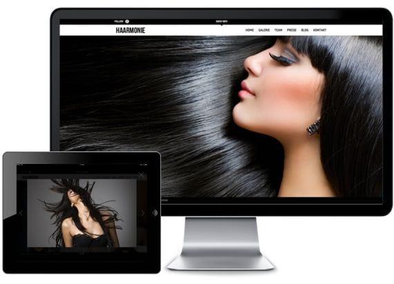 Webdesign Haarmonie